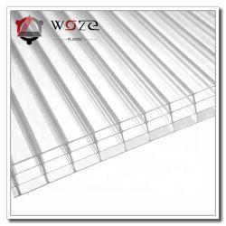 Hohes Wand-Polycarbonat-Höhlung-Blatt-Dach-Blatt-Baumaterial-Gewächshaus der Auswirkung-vier