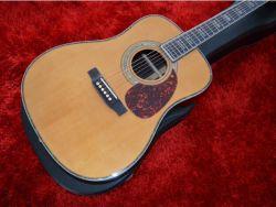 """Haut de l'épinette AAA solide D45 Guitare acoustique Guitare électrique acoustique 41 """" Corps Dreadnought guitare acoustique électrique classique de type d'Acoustique"""