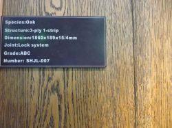 오크 목재 바닥 / 가구 / UV 코일 / 하드 바닥 / 바닥 / 오크 솔리드 나무 바닥 / 오크바닥
