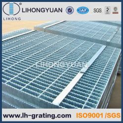 Dentadas de rejilla de acero galvanizado de acero para la plataforma de proyectos de suelo