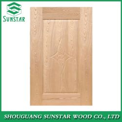 تصميم الخشب البندقية باب HDF اللوحة الباب الخشب الصلب
