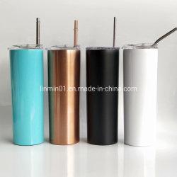 Kundenspezifisches Doppeltes ummauert Edelstahl-Vakuumkaffeetasse mit Drucken