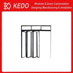 Um; Luminium Vidro rotativo de liga em portas basculantes Francês