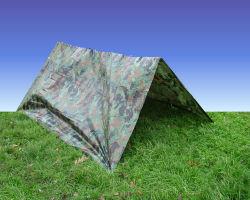 Campamento militar de camuflaje lona de Toldo Sol vivienda