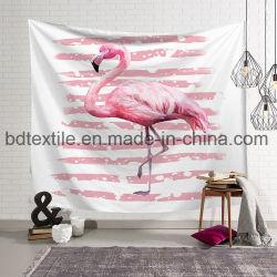 Flamingos 3D-печати моды гобелен на стене