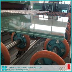 Balkon-Edelstahl-Glasdistanzhülse ausgeglichenes lamelliertes Glas-Geländer-Glas