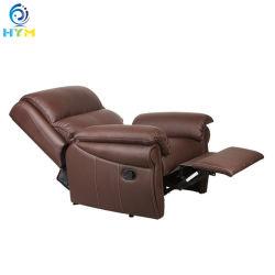 Handelsmoderne Recliner-geschnittentendenz-reales verwendetes ledernes Sofa