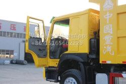 2015 Modèle 371HP Modèle 2016 Benne chariot utilisé Tipping chariot Sinotruk HOWO Camion-benne Pièces de la pompe hydraulique en Afrique