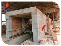 Forno de túnel de tijolos de barro