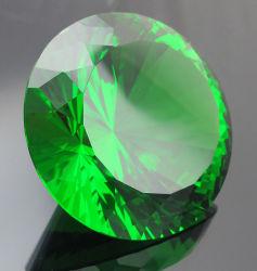 Diamanti di cristallo, accessori decorativi di vetro eleganti