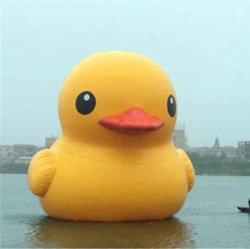 Aufblasbares Maskottchen mit Ente-Modell-riesiger Gummiente