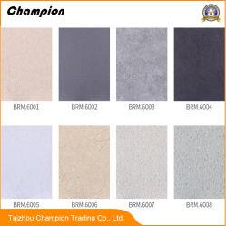 Pisos de PVC con madera, suelos de PVC con granos de piedra con ácido y base de la resistencia.