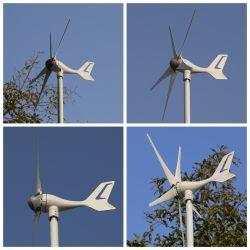 1Kw 200W 300W 500W Generador vertical del viento, con muy bajo nivel de ruido y baja velocidad del viento Inicio