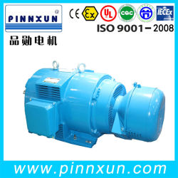 موتور حلقة انزلاقية كهربائي IP23 ذو ثلاث مراحل منخفض الجهد لمصنع الصلب