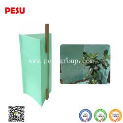 Plaque de plastique ondulé pour la protection des arbres fruitiers