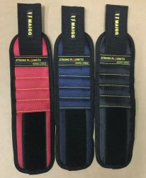Pulseira magnética personalizado para a realização de ferramentas com 5 seções 5 ímãs de retângulo