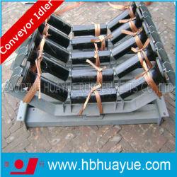 (Q235 en acier au carbone) pipe les galets tendeurs avec roulement à billes à gorge profonde
