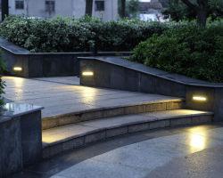 Кристалл Aluninum литой корпус светодиодные лампы освещения подъемной лестницы