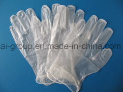 Medical UseのためのClear使い捨て可能なPowder Free PVC Vinyl Gloves