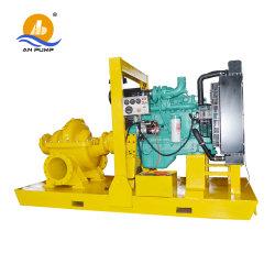 Diviser le carter de pompe à eau centrifuge double aspiration pour l'irrigation