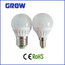 3With4With5W G45 van de LEIDENE van de Goedkeuring van Ce RoHS het Licht Bol van Dimmable