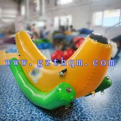 Personalizar Water Park banana boat inflável/Diversão de alta qualidade que arvoram Bananas insufláveis dos Desportos