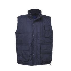 100% de poliéster Vest Venda Quente Mens Multipocket Colete Safari