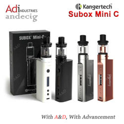 Mini-Subox C 75W Mod Kit de démarrage avec Kbox Protank Mini-C 5 Haut de page Mise à jour de remplissage Subox Mini-C Kit de démarrage