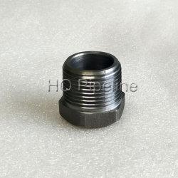Кованая сталь фитинги трубы/A105 ДНЯО резьбовой втулки с шестигранной головкой
