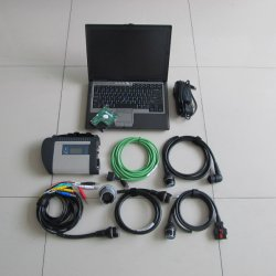 Autoscanner MB Star C4 Diagnose-Tool mit D630 Laptop