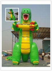 De aangepaste Dinosaurus van de Reclame van de Bevordering Opblaasbare op Verkoop