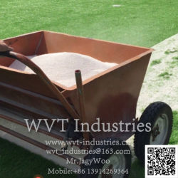 Sport Football Field Artificial Grass Sand Filling machine/Comber/bresher/Soccer Pitch Synthetisch vervaande gazon