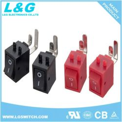Position 2 subminiature Mini interrupteur à bascule 3A250VAC pour le décodeur haute définition et le routeur