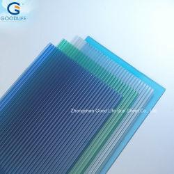 Planície de protecção UV/Impresso/Stripe Policarbonate Folha oco de policarbonato para coberturas