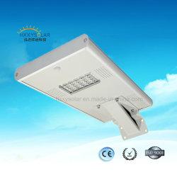 Zuverlässige integrierte Solar-LED-Straßenleuchte 15 W für den Außenbereich