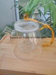 Прозрачные стеклянные бокалы чайник боросиликатного стекла напиток Teapot