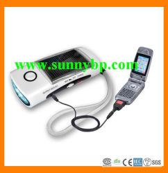 太陽LEDの懐中電燈(無線および移動式充電器と)