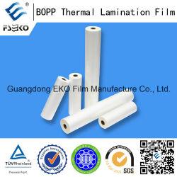 18mic BOPP Plain Film con EVA Glue per Lamination