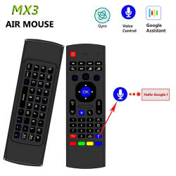 QWERTY Tastatur IR-Fernbedienung MX3 Air Mouse für Android TV-Box
