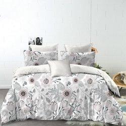 Seguridad Color puro bebé ropa de cama de bebé ropa de cama de enfermería blanca Ropa de cama de sábanas de cuna satinada