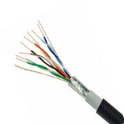 CCC LAN 케이블 F/UTP Cat5e 케이블 이중 재킷 ETL/UL CMX/CM/CMR