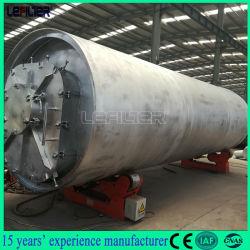 수동 공급 유형 폐기물의 타이어 열분해 재활용할 장비 연료 오일