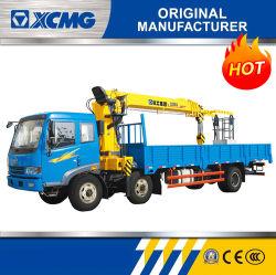 XCMG 제조자 들기를 위한 8 톤 유압 모터 세발자전거에 의하여 거치되는 이동할 수 있는 끼워넣어진 기중기