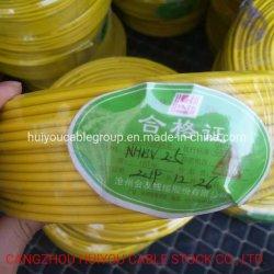 Polyvinylchloriddraht PVC-isoliertes Cu-Kernsteuerkabel