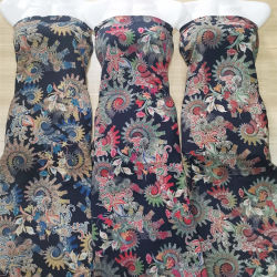Текстильный 100% района/вискоза из напечатанных ткань на складе готовы товаров