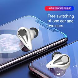 Il più in ritardo 5.0 disturbo senza fili di Earbuds Tws MD002 Tws Earbuds del trasduttore auricolare stereo di Bluetooth che annulla vendita calda del Amazon della chipset