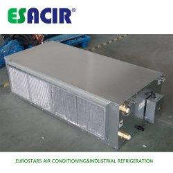Ventilateur du conduit de la bobine de pompe à chaleur de l'installation du ventilateur de l'unité de bobine dissimulée