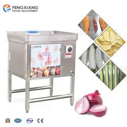 Máquina de cortar frutas vegetales eléctrico de la cuña de la patata patata zanahoria que separa la máquina la máquina