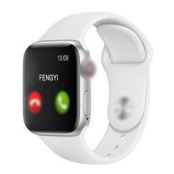Braccialetto astuto del cinturino del video di frequenza cardiaca di playback di chiamata di Relogio Bluetooth di serie T500 5 di Smartwatch 2020 e di pressione sanguigna