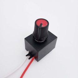 جهد منخفض 0-10 فولت لمصباح LED للمروحة الصغيرة مفتاح تعتيم إضاءة وحدة التحكم